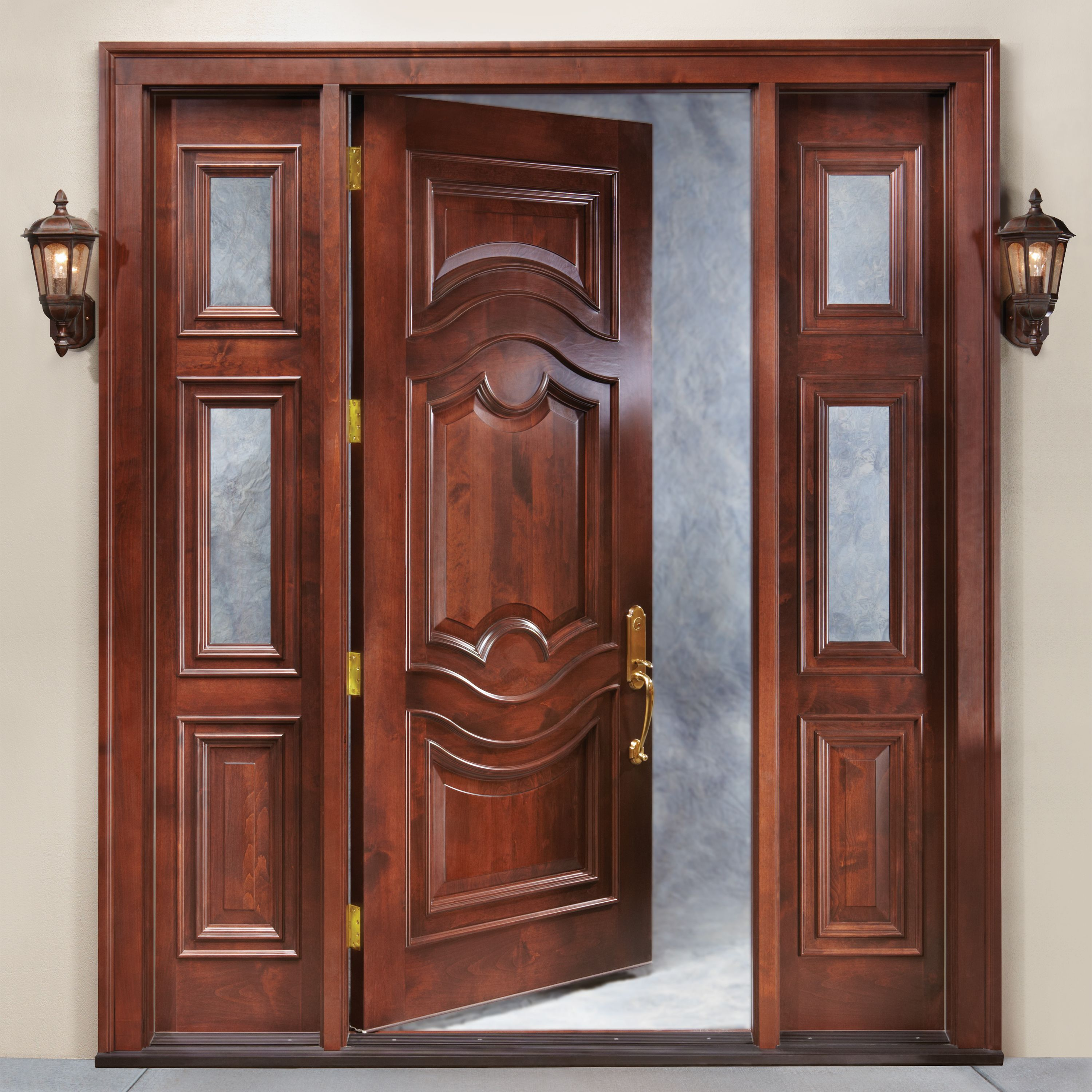 How to Get Aesthetic Customized Wooden Doors For Your Garage?