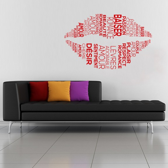 Tips for the application of the wall stickers or wall decals