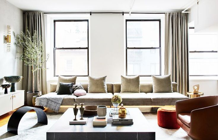 How To Make Your Living Room Look Put-Together