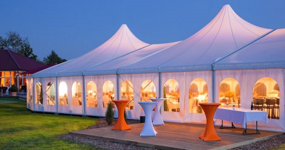 Everyone loves party tent